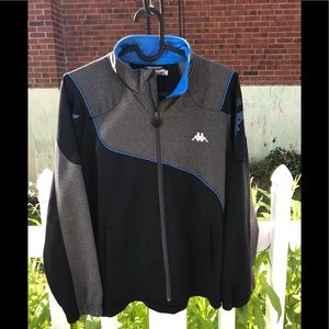 100726c8 Kappa Jackets & Coats | Vintage Usa Track And Field Hoodie Nwot ...
